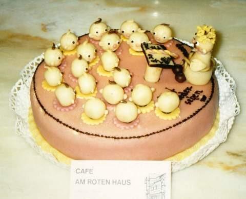 mini-Rosa Torte