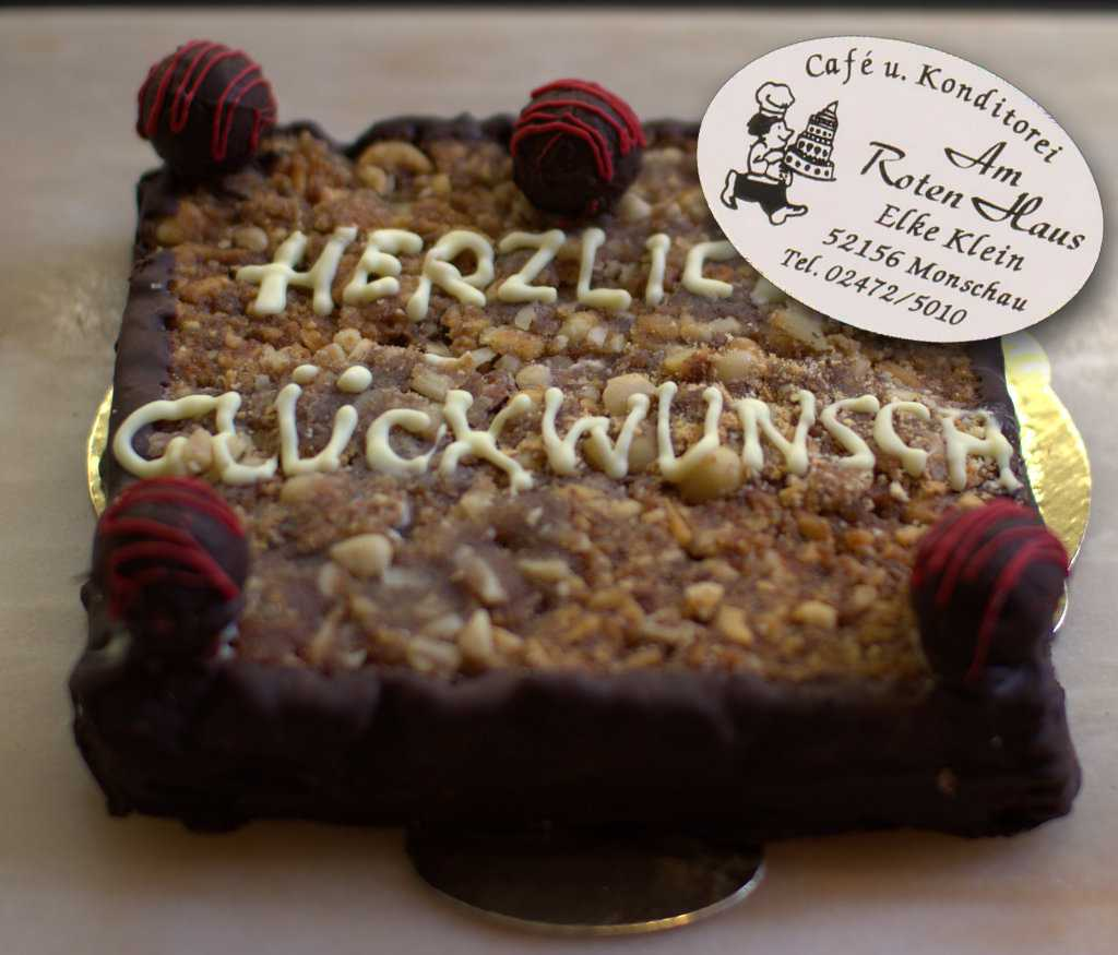 Kreative Torten Cafe Am Roten Haus Monschau