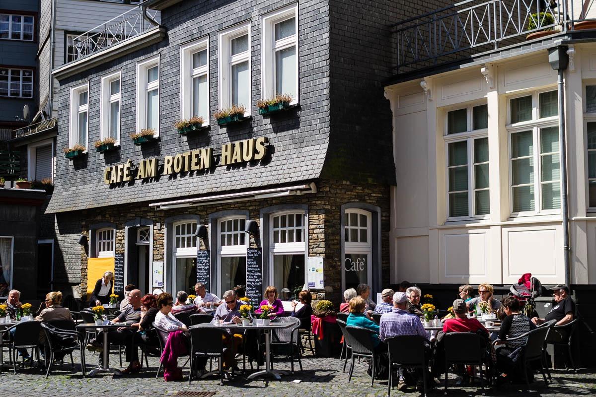 Sonnenterasse Café Am Roten Haus